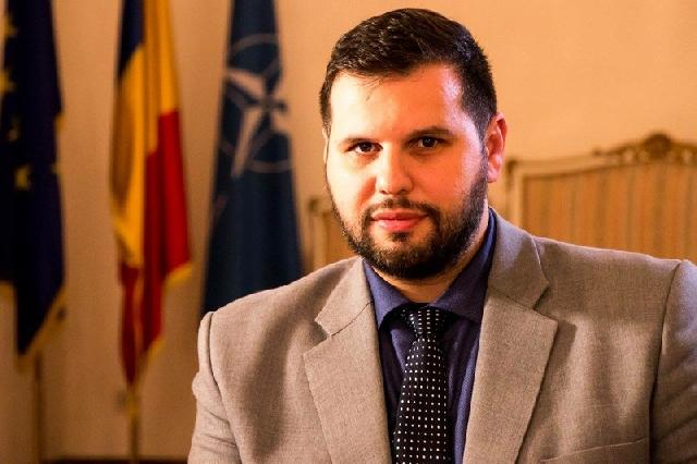 Romanian minister-delegate visits Albania