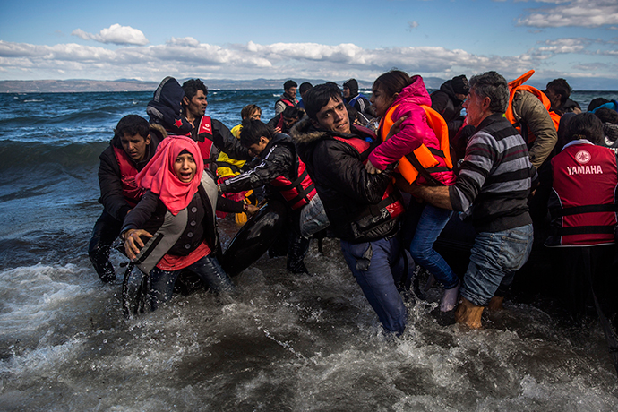 Refugees keep drowning every day in the cold Aegean sea
