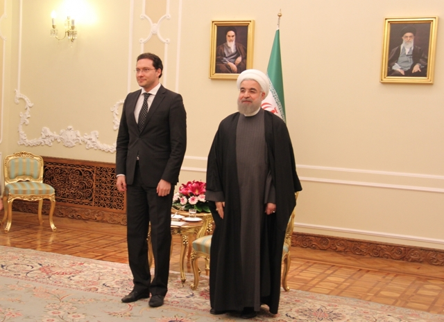 Bulgarian Foreign Minister in talks with Iranian president in Tehran