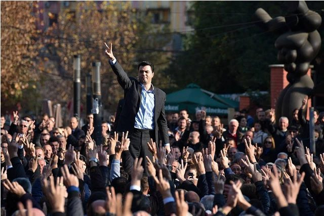 """Albanian opposition announces a plan of protests """"until the government's overthrow"""""""