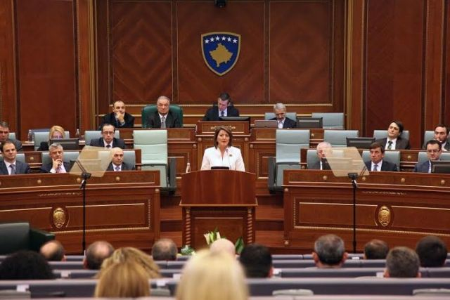 Dialogue is the only alternative, Kosovo's president says