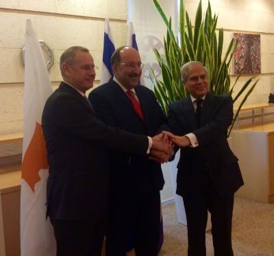 Cyprus, Greece and Israel hold trilateral meeting at FM Permanent Secretaries level