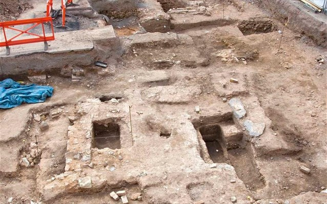 Archeologists unearth a new part of the ancient city near Larnaca Tekke