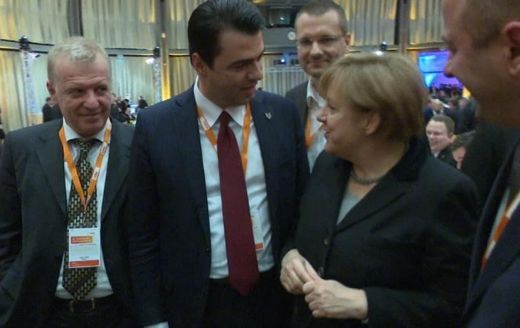 Opposition leader Basha in the CDU congress (PHOTO-VIDEO)