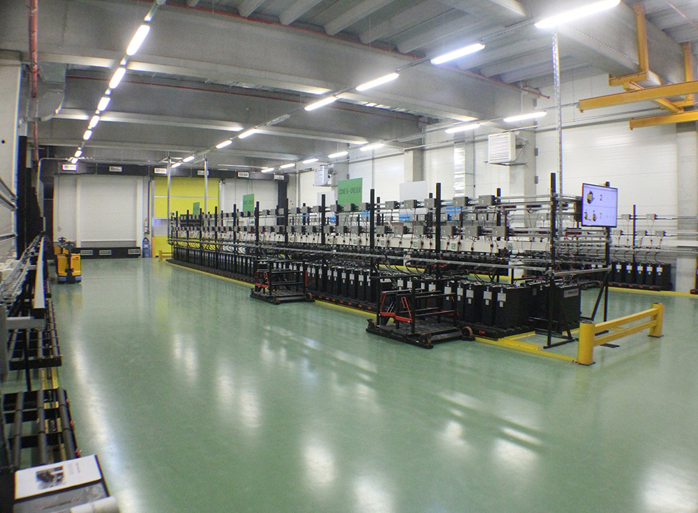 Germanos battery factory second in Europe
