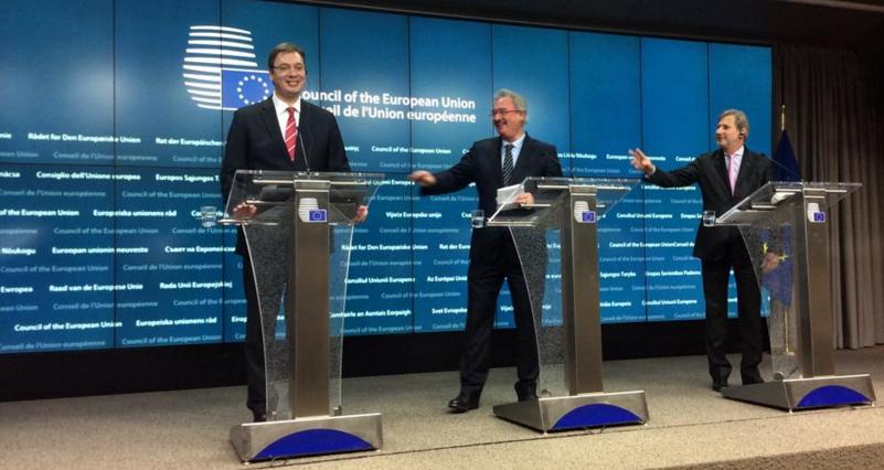 Dialogue with Kosovo key in EU-Serbia talks