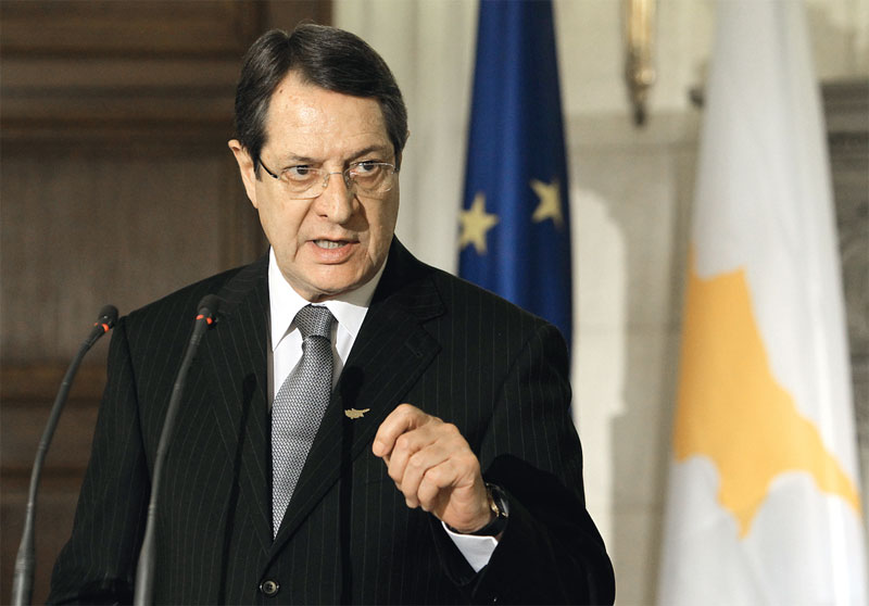 Anastasiades hopes for Cyprus solution in 2016