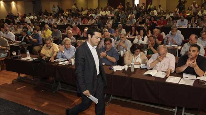 """SYRIZA Parliamentary Group: Conference in April, """"no"""" to ecumenical government"""