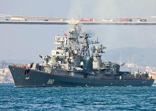 Warm episode between Russia and Turkey in the Aegean