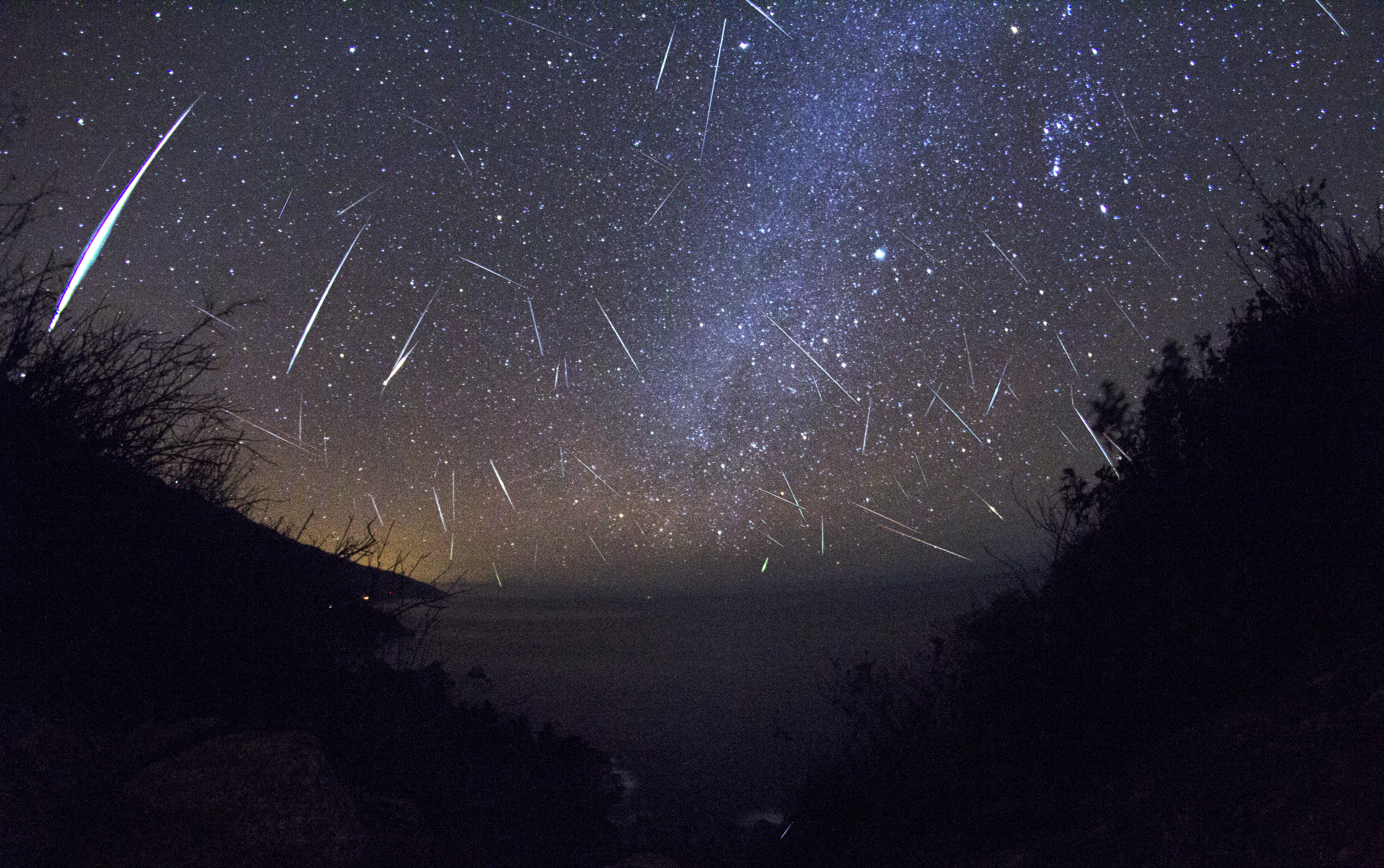 Geminides meteor shower visible in Balkans in the night of the 13th