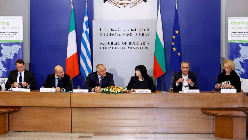 Bulgaria, Greece sign deal on gas interconnector pipeline