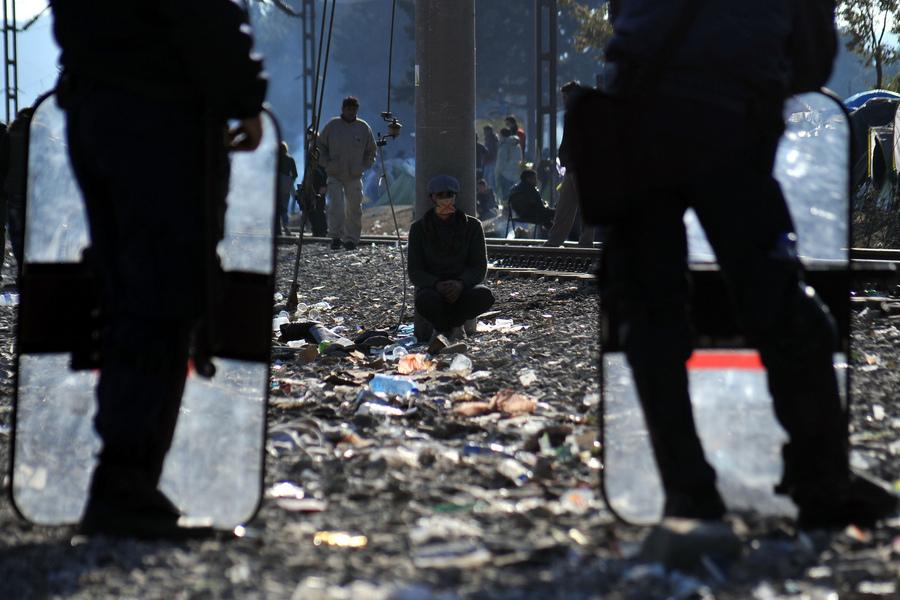Greek journalist are upset for their blockage at Eidomeni