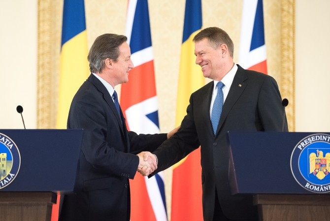 "David Cameron in Bucharest: ""Freedom of movement brought in too many people"""