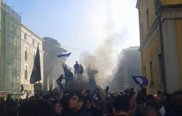 Tirana City Hall fines the opposition with 120 thousand euros during the damages of the protest