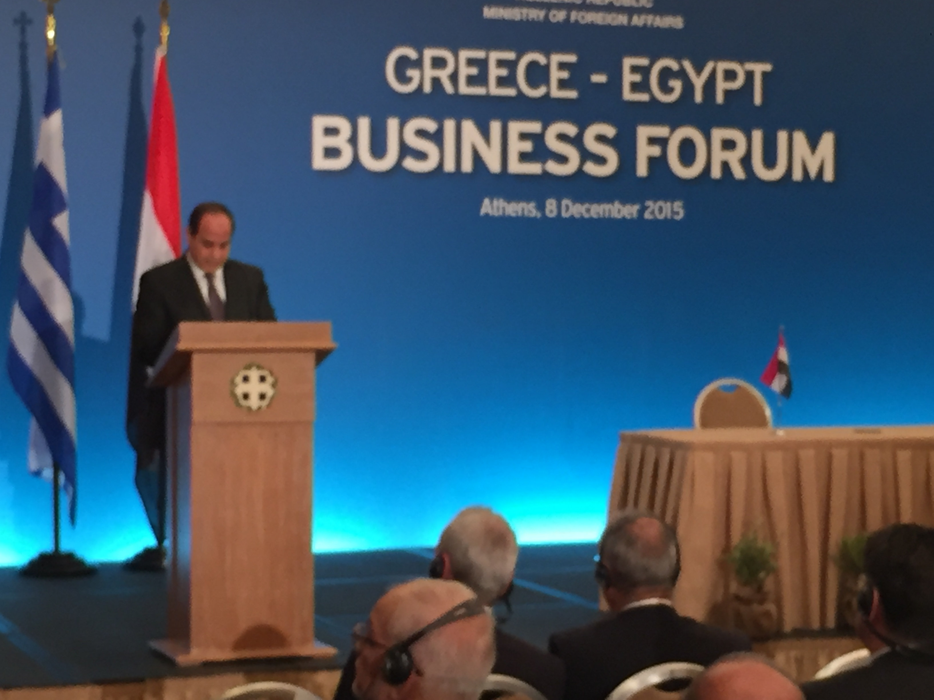 Tsipras – Al Sisi meeting with energy, construction, infrastructure, collaboration Greece-Egypt in the agenda