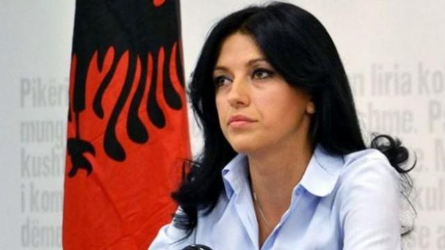 Self Determination MP Albulena Haxhiu arrested
