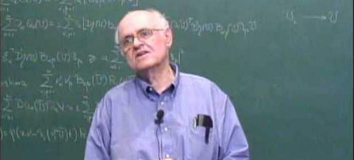 Top distinction for Greek mathematician – He is awarded the Norbert Wiener Award