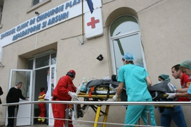 Saved from the flames, but killed by infections in Romanian hospitals