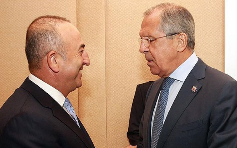 Mevlut Cavusoglu meets Russian counterpart