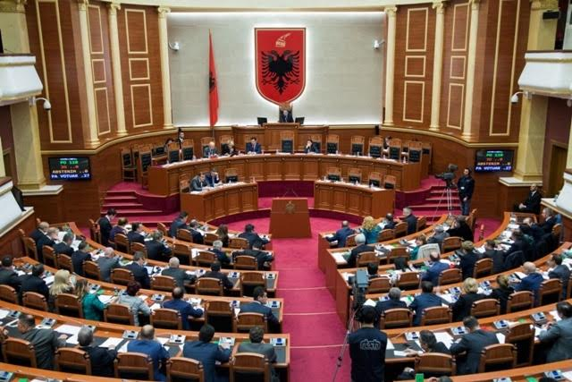 Parliament in Albania starts marathon debates over budget and tax package