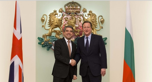 Everyone would lose if UK left EU, Bulgarian President tells Cameron