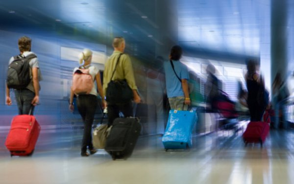 Considerable rise of passengers volume of flights