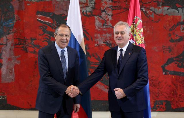 Serbia's Nikolic expresses gratitude to Putin