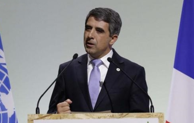Bulgarian President: Fighting climate change is moral obligation and has a sound economic case