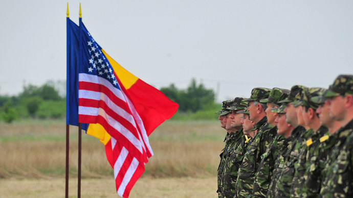 US Army sends military equipment to Romania