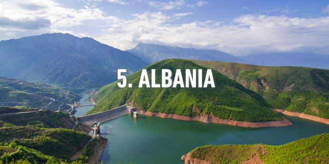 Rough Guides: Albania, fifth in the world to be visited during 2016