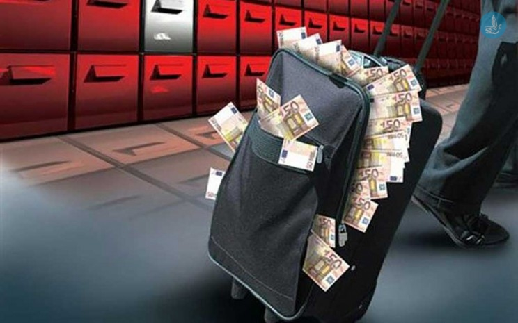 The first freezing of assets for huge accounts abroad
