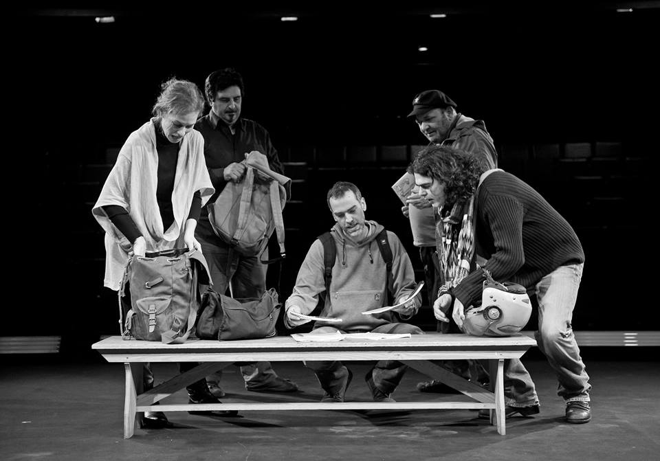 Greece's National Theater stages play based on terrorist's book, sparks controversy