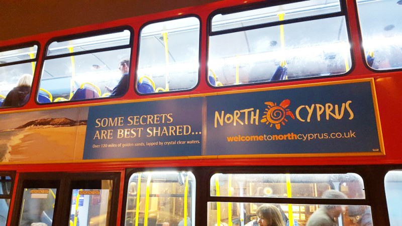Turkish Cypriot tourism campaign in the UK causes Greek Cypriot reaction