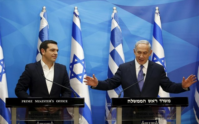 Alexis Tsipras to Israel and Cyprus
