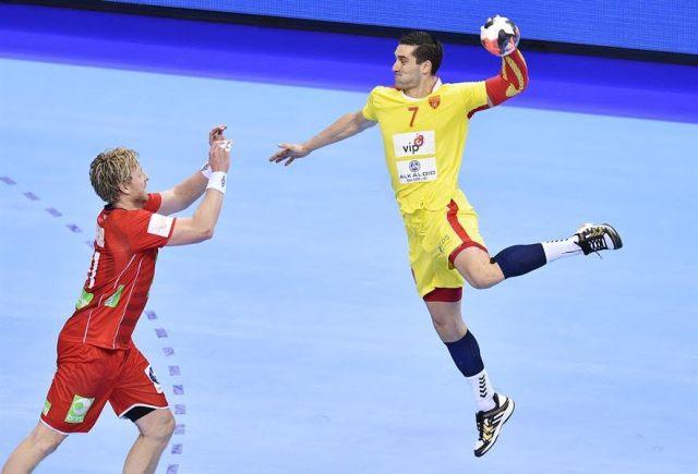 FYROM draws against Norway in handball