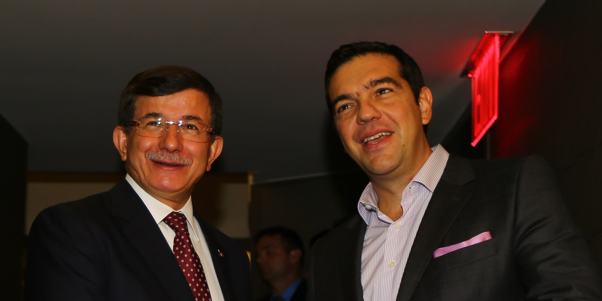 IBNA/Exclusive: Secret Tsipras – Davutoglu meeting in Davos.