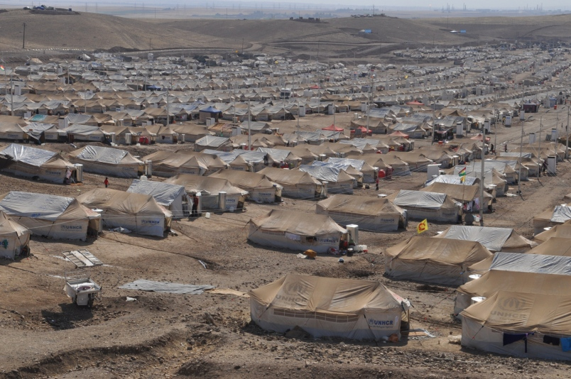 IRAQ: the refugees who offer hospitality to refugees