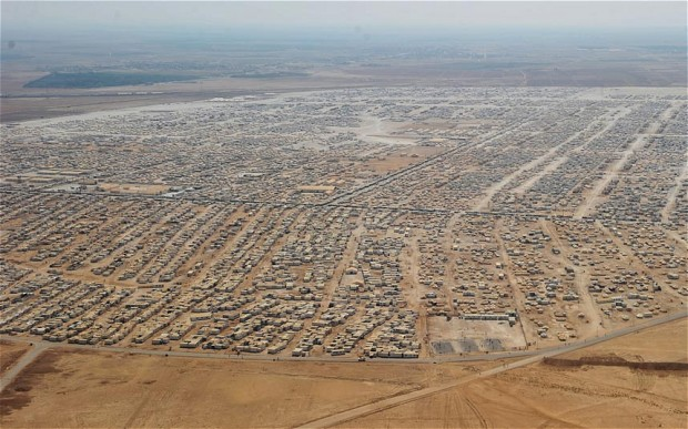 Syrian refugees in Jordan: fled the war, fighting to survive