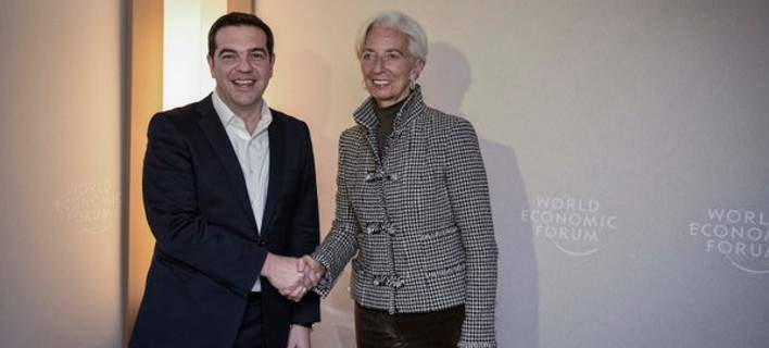 Tsipras – Lagarde reach agreement in Davos with time pressing