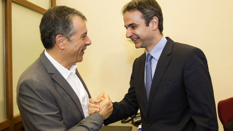 Mitsotakis – Theodorakis hold first meeting