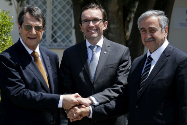 Cyprus leaders reiterated determination over a solution to the Cyprus problem