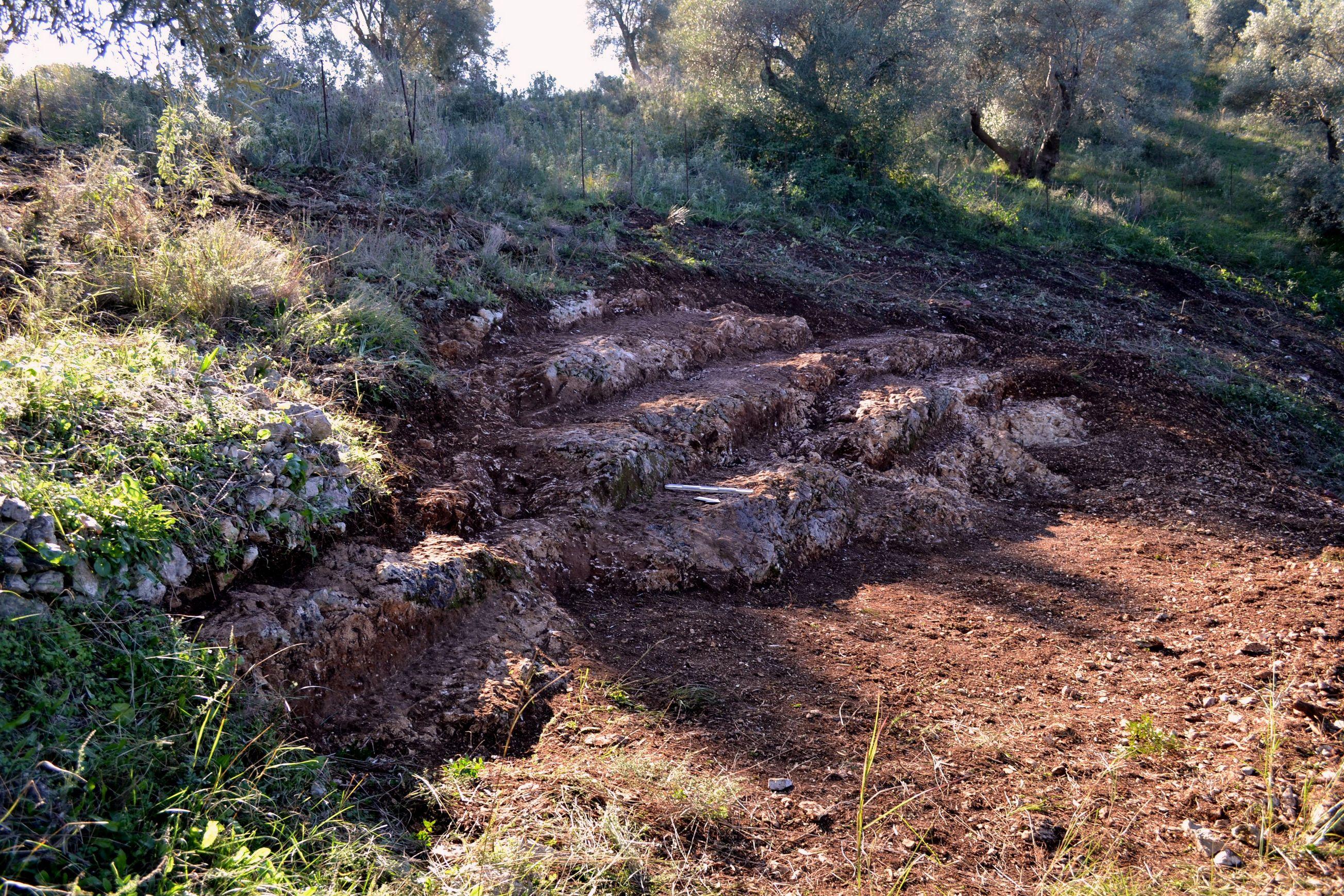 Ancient theatre in Lefkada