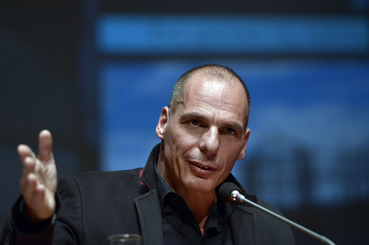 Germany cancelled a deal with China, Varoufakis said