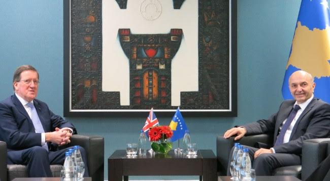 Robertson: Kosovo is committed for the rule of law, violence is not a solution
