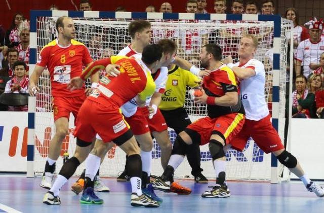 FYROM's handball team defeated by Poland