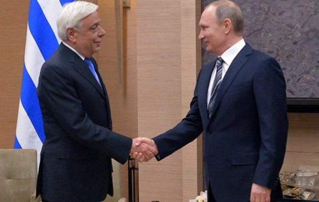 Greek president:The decisive contribution of Russia in tackling major challenges