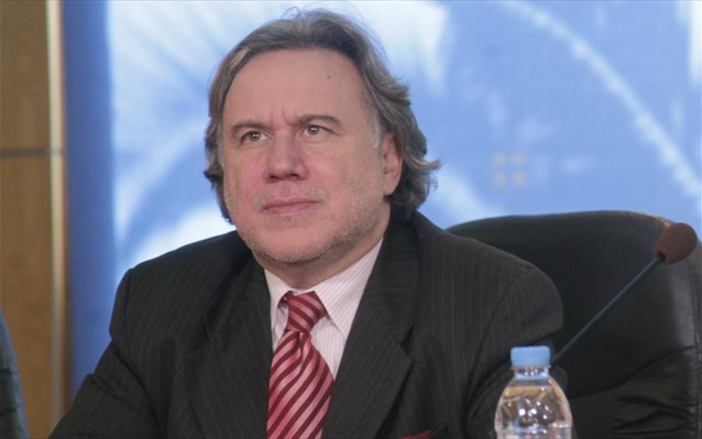 Giorgos Katrougalos in Brussels to attend the EU Foreign Affairs Council
