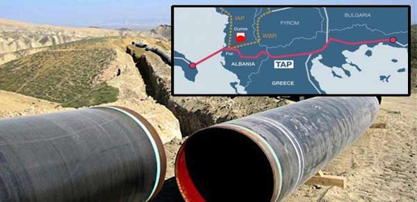 Greek Energy Minister seals TAP construction in 13 regions