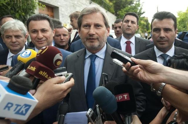The April elections may be postponed, Hahn expected to visit Skopje