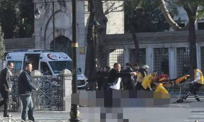 The terrorist attack in Istanbul